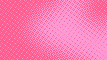 Baby pink pop art background in retro comic style with halftone dots design, vector illustration eps10 Fototapete