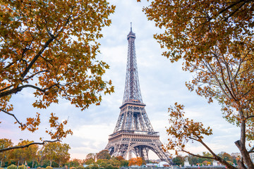 Foto op Canvas Eiffeltoren Eiffel Tower in Paris