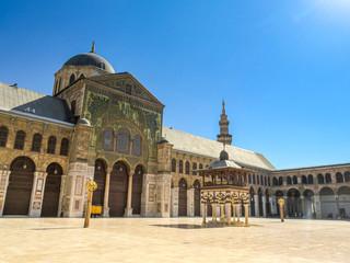 Umayyad Mosque yard in Damascus (Syrian Arab Republic) 09/08/2018