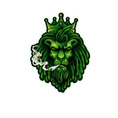 KING LION SMOKER RASTA REGGAE