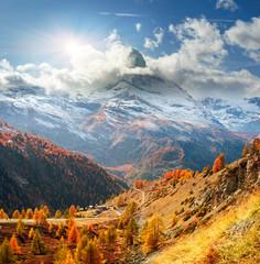 Matterhorn and Autumn