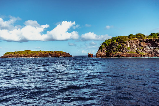 Saint Vincent and the Grenadines, Boat trip at Bequia Ouest part
