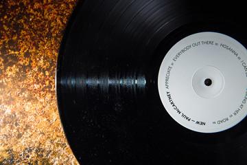 Valencia, Spain - October 28, 2019: Vinyl record by rock singer Paul McCartney, album new.