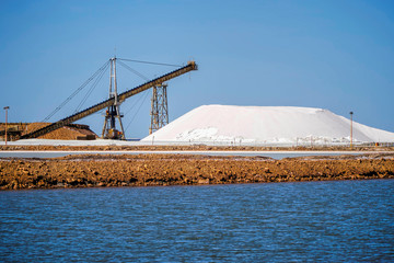 Port Headland salt mining
