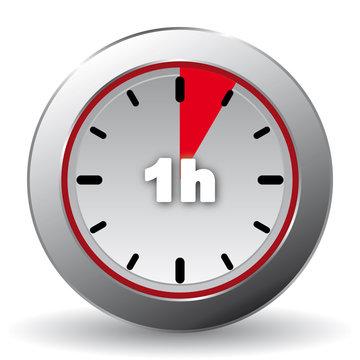 1 hour icon