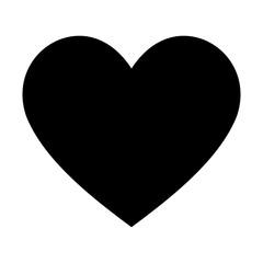 heart icon design element. Logo element illustration. Love symbol icon