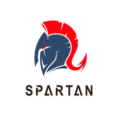 Sparta Logo Vector, Spartan Helmet Logo Template, Icon Symbol, Gladiator icon
