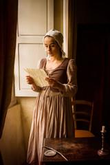 Vermeer woman reading love letter
