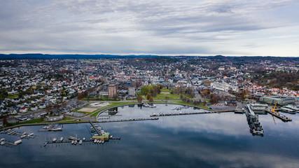 The Norwegian city of Sandefjord