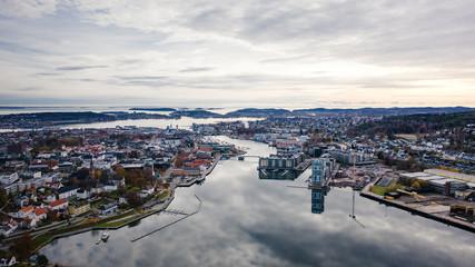 The Norwegian city of Tonsberg