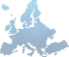 Fototapeta map of Europe obraz