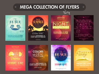 Mega collection of Party flyers.