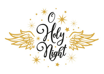 O Holy Night - Christmas Greeting Card