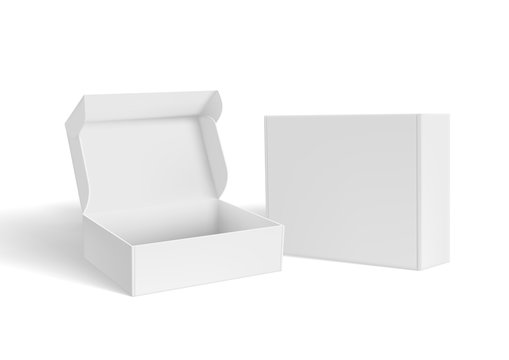 3D Open And Close Blank Packaging Box