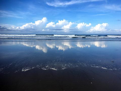 La playa de las Lajas en Panamá