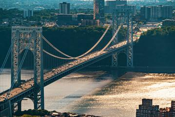 George Washington Bridge, New York. Image of George Washington Bridge at Twilight