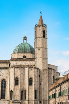 Basilica San Francesco,  Ascoli Piceno, Italy