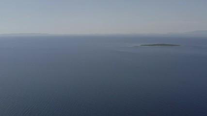 Wall Mural - Adriatic Sea and the Horizon. Northern Croatia, Europe.