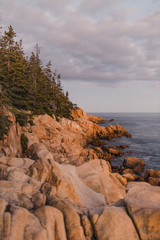 Sunset in Acadia National Park