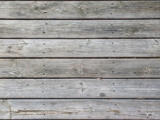 Des planches de bois recyclées