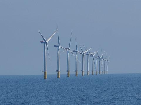 Windpark in der Nordsee