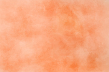 Abstract modern painting . Dry brush painted paper , canvas , wall . Textured background in coral tones.