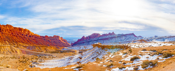 Moab Utah Colorful Landscape