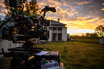 Digital Cinema Camera at Sunrise