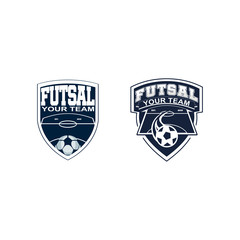 soccer and futsal logo