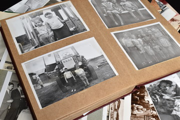 The memory of the distant past. Family photo archive.