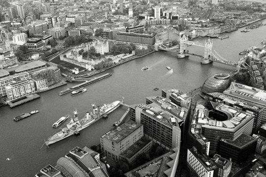 River Thames & Tower Bridge London