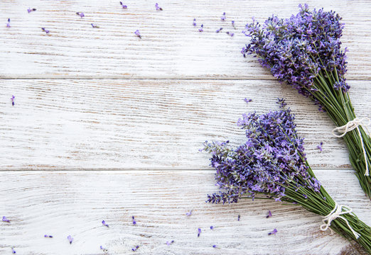 Fresh flowers of lavender