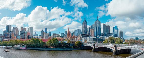 Melbourne cityscape skyline Fotomurales