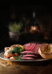 Rustic Rare Roast Beef II