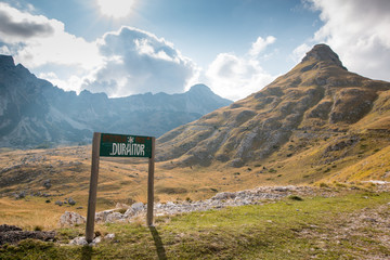 Parc national Durmitor, Montenegro