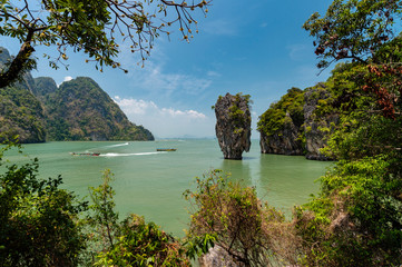 James Bond Island, featured in the movie ?ƒ˙The Man with the Golden Gun?ƒ˘.