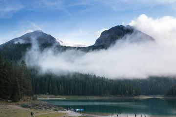 Randonnée au lac Noir, Black Lake, Durmitor National Park, Zabljak, Montenegro