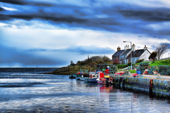 Brora harbour