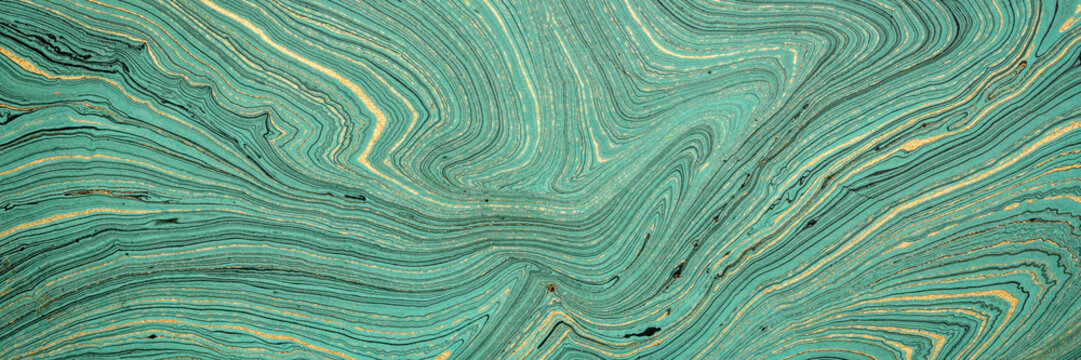 teal marbled  paper background