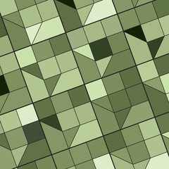 Abstract background with colored tiles