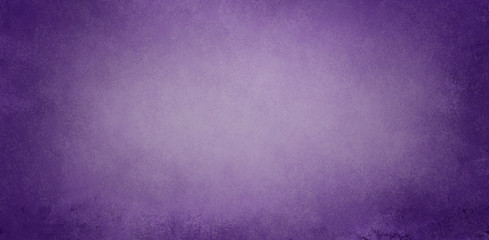 Wall Mural - Purple background texture in old purple paper design with dark textured border grunge and light pastel center