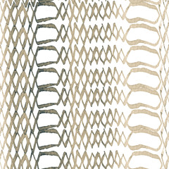Snake Seamless Pattern.