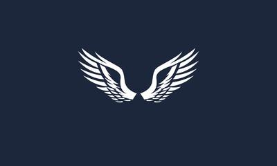 wings vector logo design inspirations Fototapete
