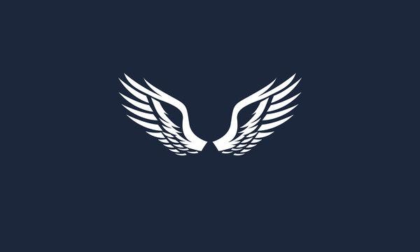 wings vector logo design inspirations