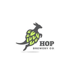 Kangaroo hop logo