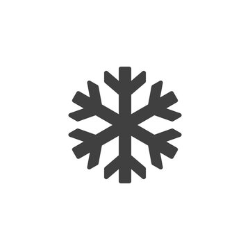 Keep frozen sign vector icon. filled flat sign for mobile concept and web design. Snowflake glyph icon. Symbol, logo illustration. Vector graphics