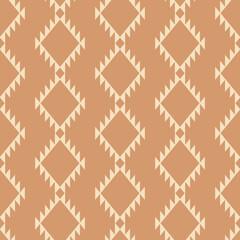 Garden Poster Boho Style Tribal southwestern native american navajo seamless pattern