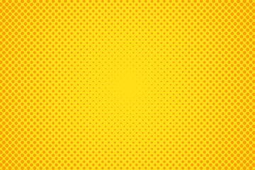 Pop art halftone dots background.