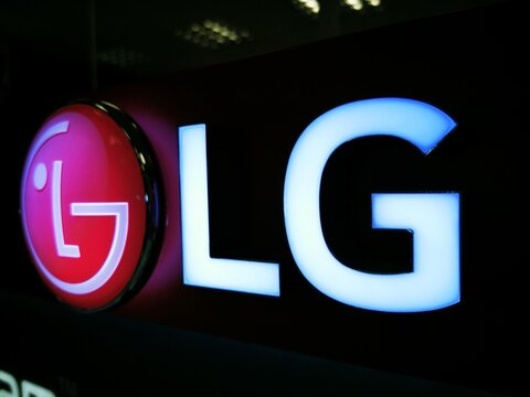 Home appliances store-luminous sign of LG brand