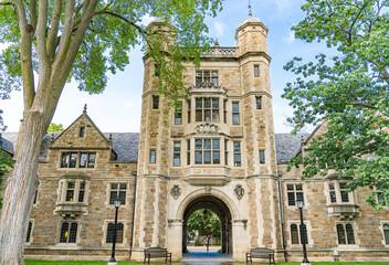 University of Michigan Lawyers Club on the Law Quadrangle